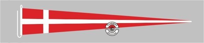 Dänemark Langwimpel