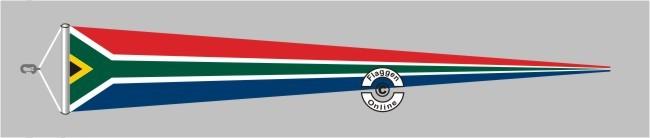 Südafrika Langwimpel mit Querholz