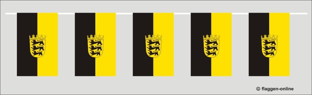 Baden-Württemberg Flaggenkette