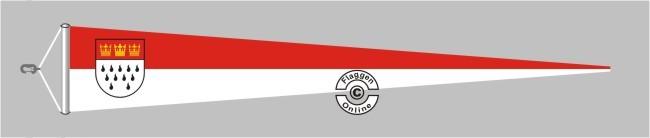 Köln Langwimpel mit Querholz