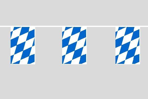 Bayern Raute Flaggenkette