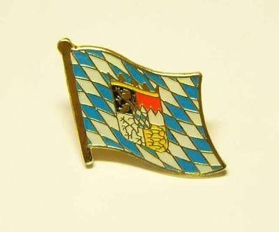 Bayern Raute mit Wappen Flaggenpin
