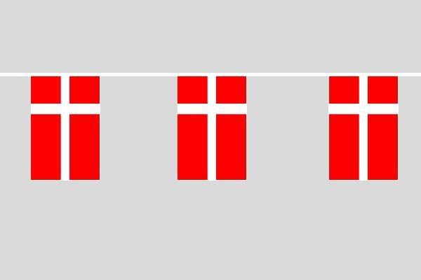 Dänemark Flaggenkette