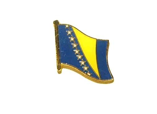 Bosnien und Herzegowina Flaggenpin
