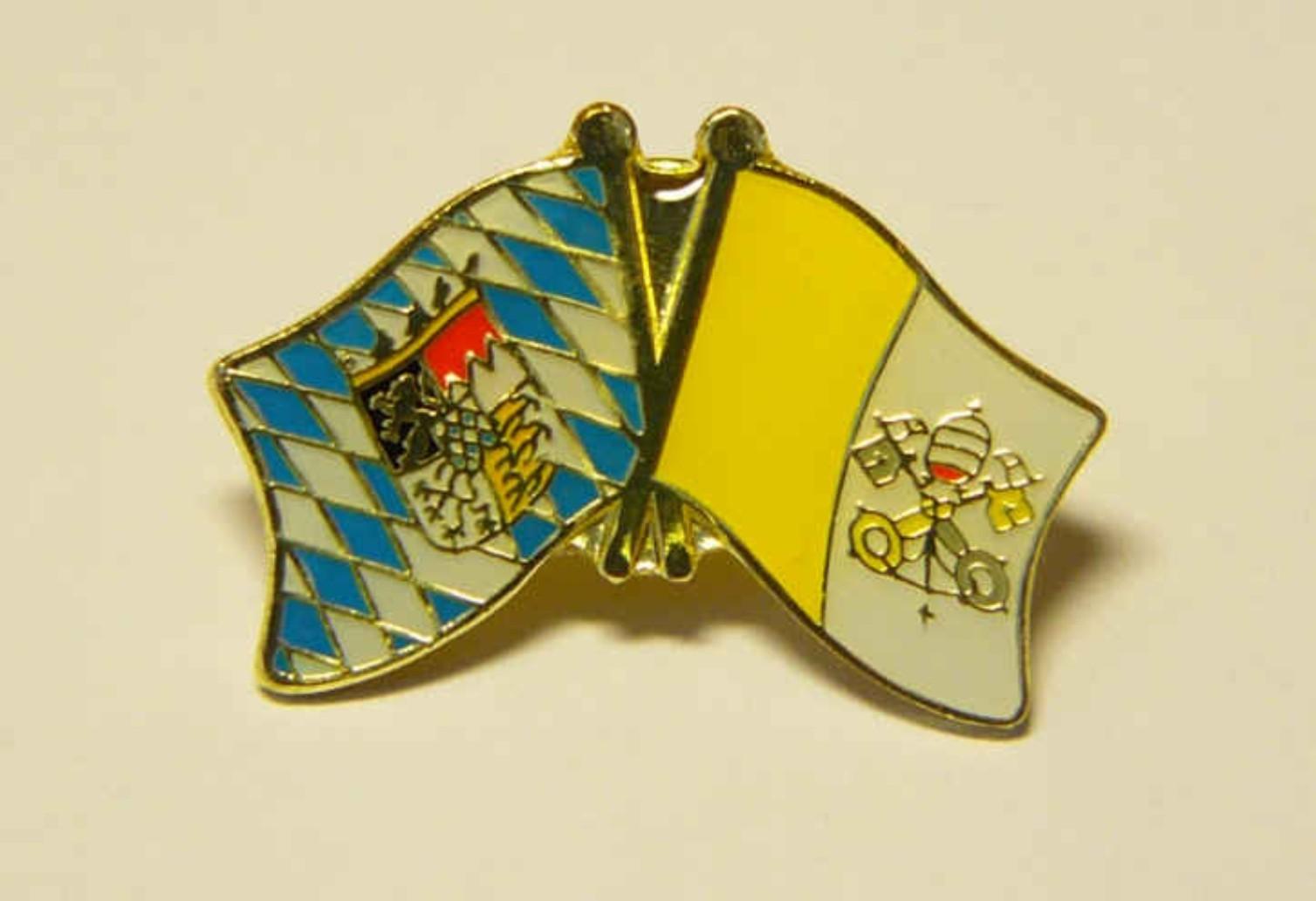 Bayern - Vatikan Freunschaftspin