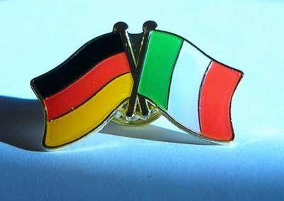 Deutschland - Italien Freunschaftspin