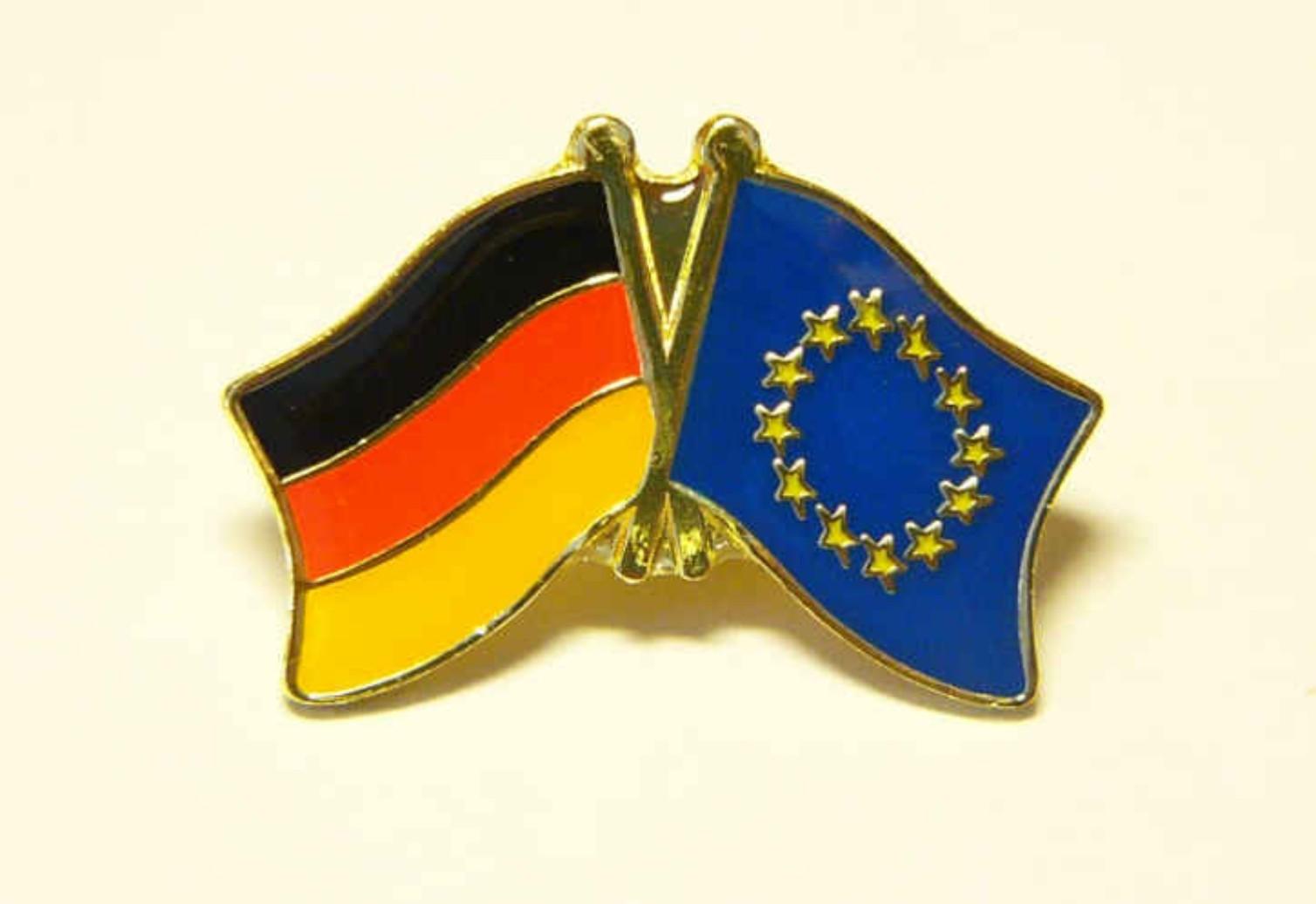Deutschland - Europa Freundschaftspin