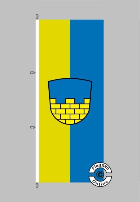 Bautzen Hochformat Flagge