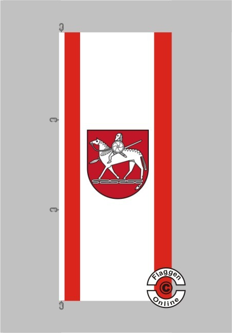 Börde Hochformat Flagge