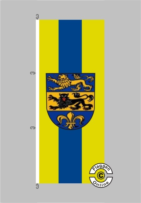 Dillingen an der Donau Hochformat Flagge