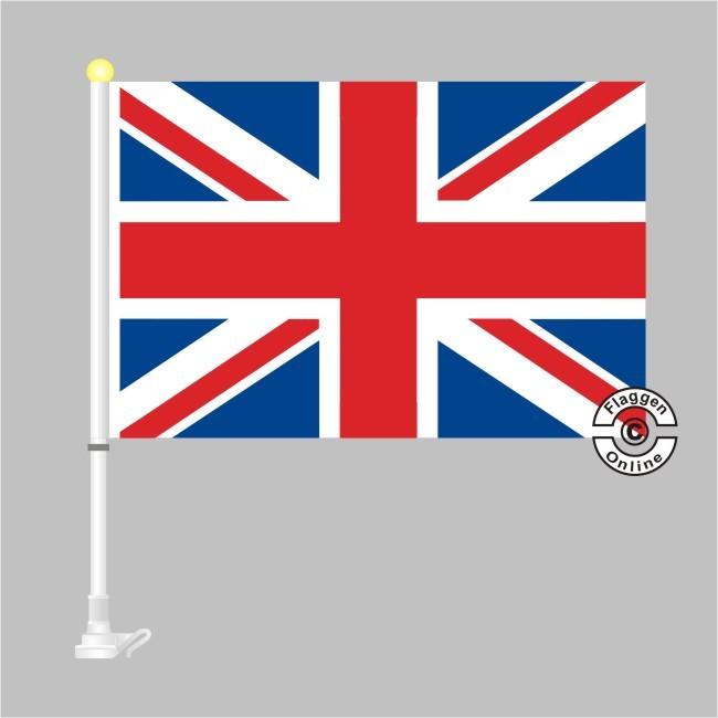 Großbritannien Autoflagge