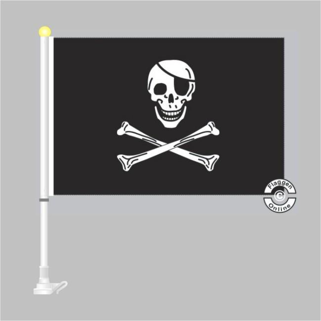 Pirat Jolly Roger Autoflagge