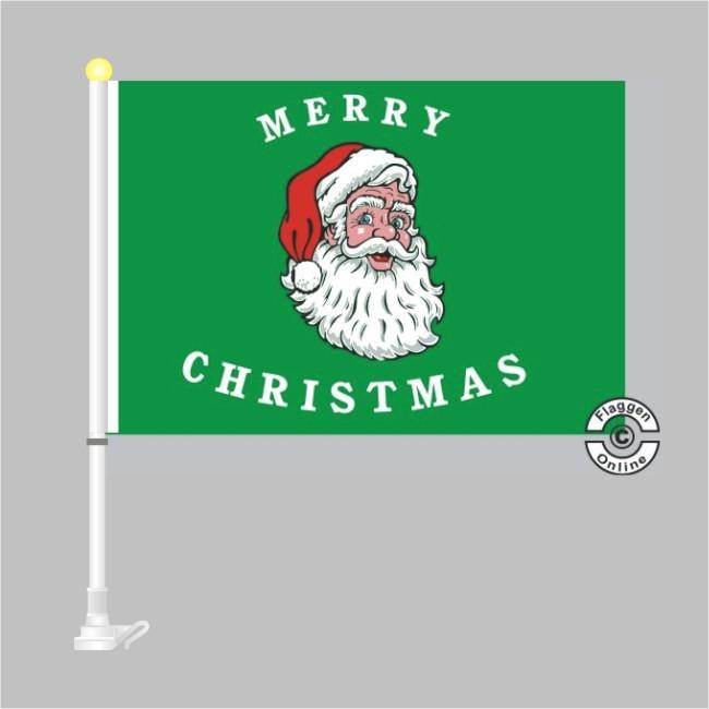 Merry Christmas Autoflagge