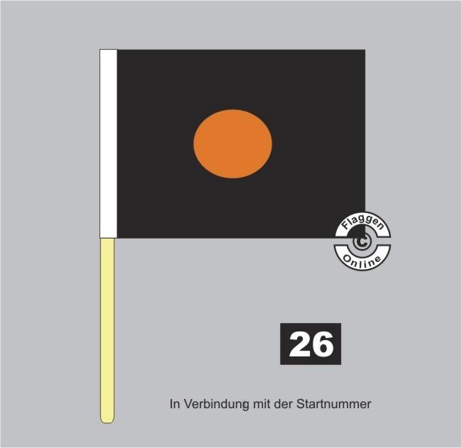 Motorsport Flagge Vermuteter Fehler