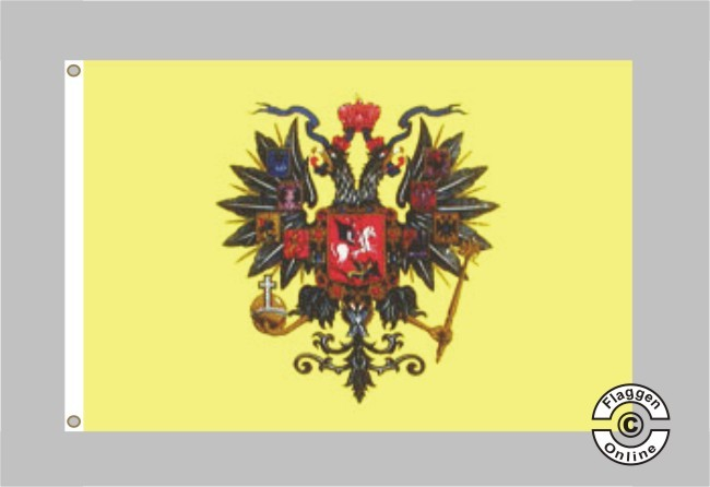 Russische Zarenflagge Flagge