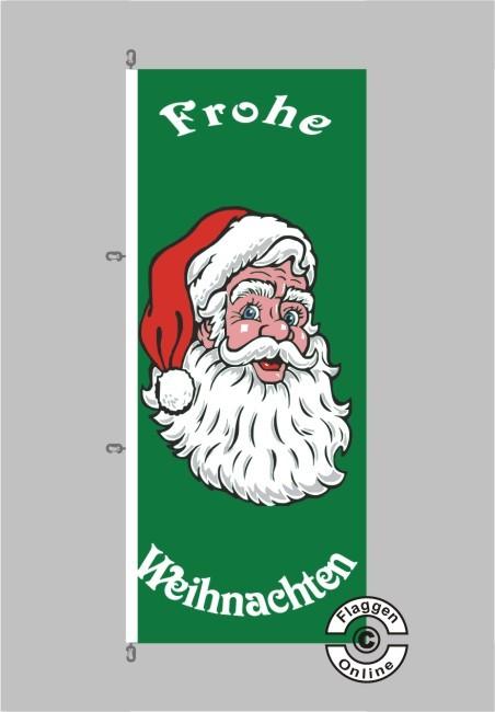 Frohe Weihnachten Hochformat Flagge