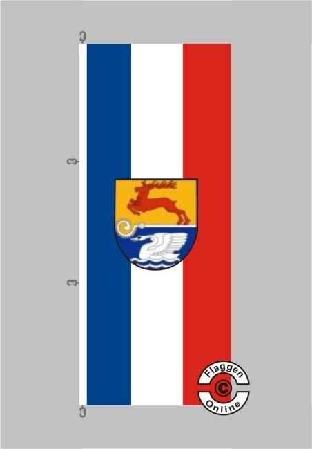 Bad Doberan Hochformat Flagge
