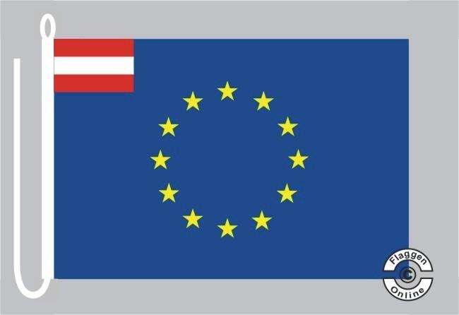Österreich Europa Bootsflagge