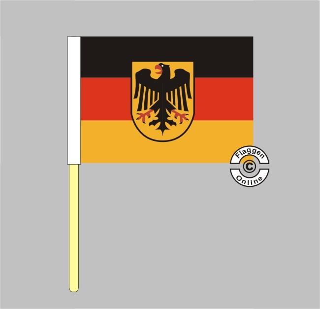 Deutschland Dienst Stockflagge