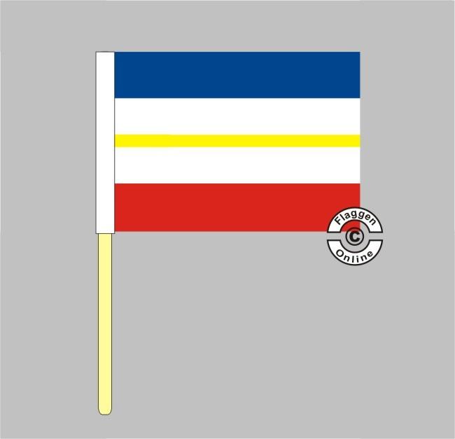 Mecklenburg-Vorpommern Stockflagge