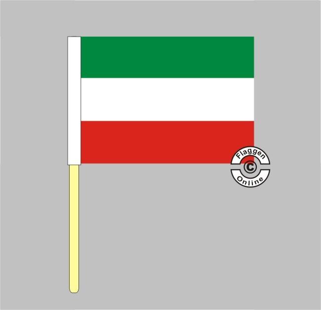 Nordrhein-Westfalen Stockflagge