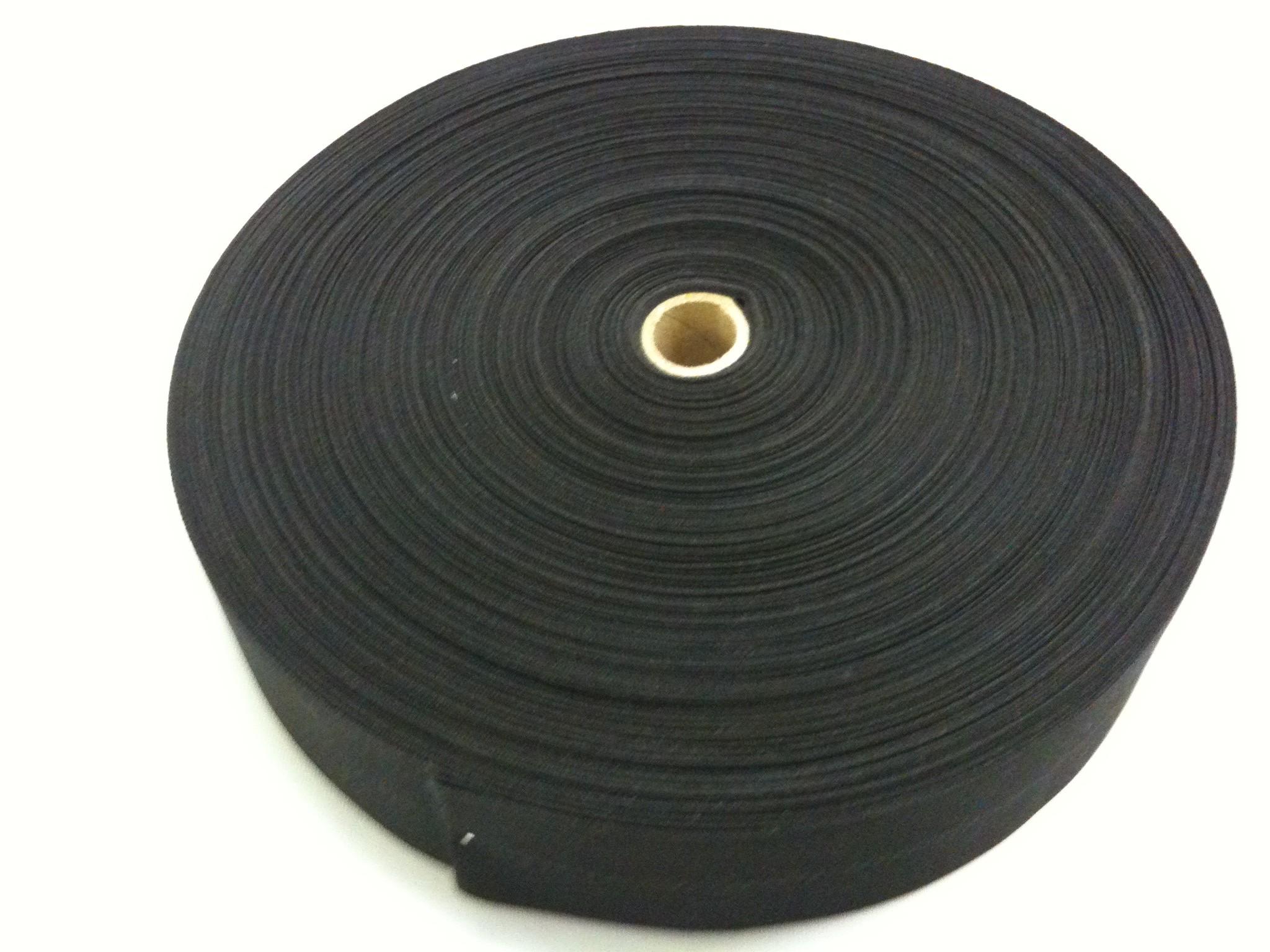 Hochwertiges Flaggenbesatzband (Flaggengurt) schwarz