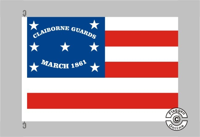 2nd Alabama Infantry Co.C.Clayborne Guards Flagge
