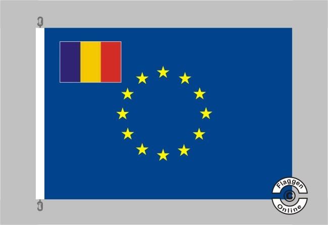 Rumänien Europa Flagge