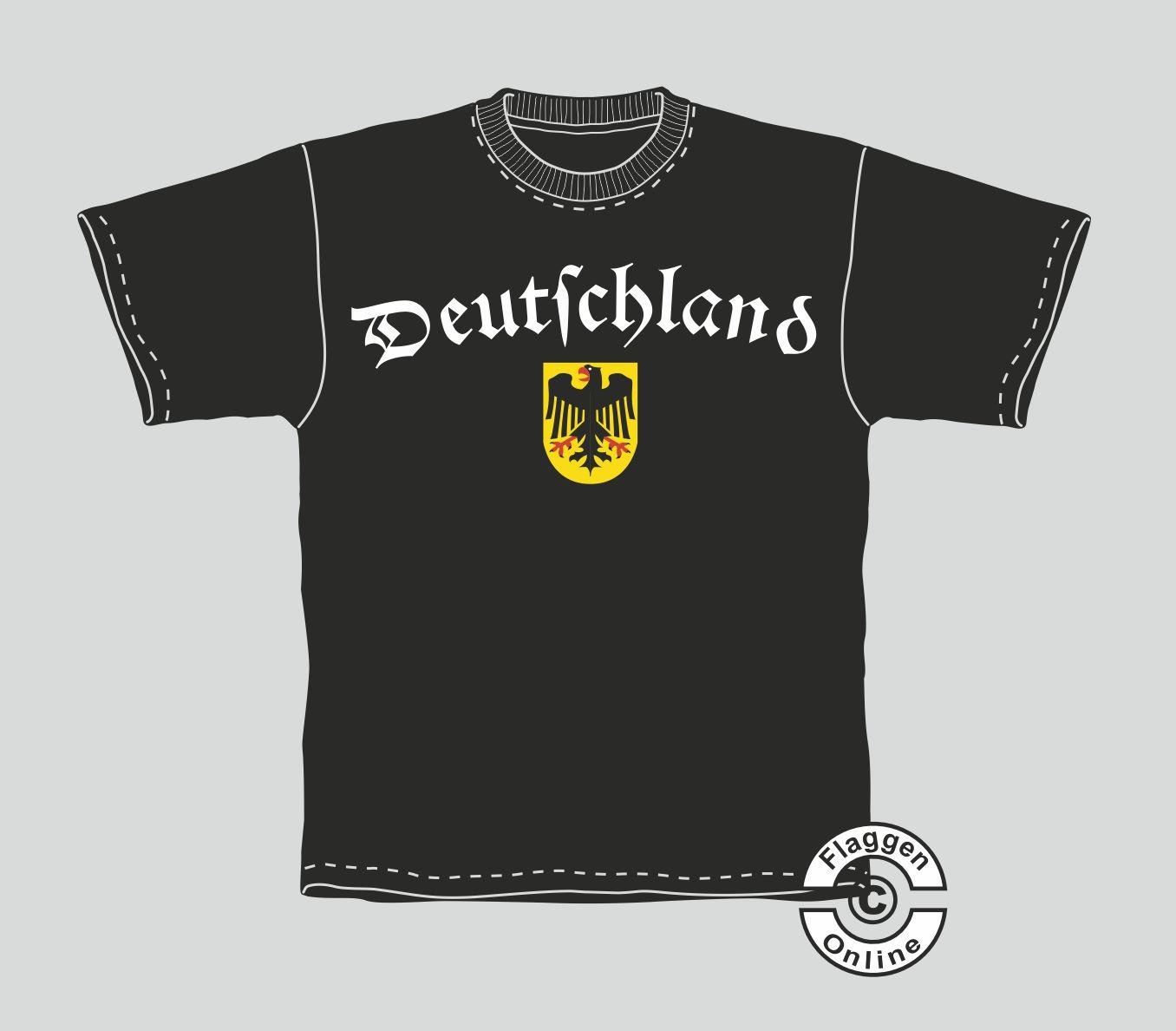 Deutschland mir Adler T-Shirt