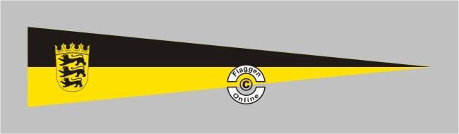 Baden-Württemberg mit Wappen Aufkleber