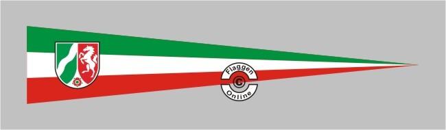 Nordrhein-Westfalen mit Wappen neu Aufkleber