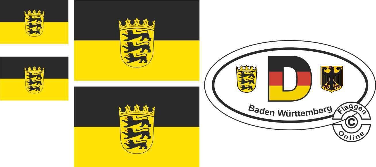 Baden-Württemberg Aufkleber