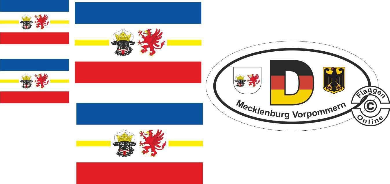 Mecklenburg-Vorpommern Aufkleber