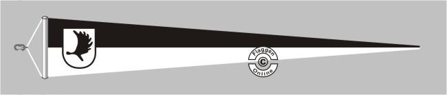 Ostpreußen Landsmannschaft Langwimpel mit Querholz