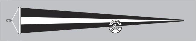 Westpreußen Langwimpel mit Querholz