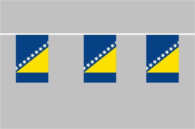Bosnien und Herzegowina Flaggenkette