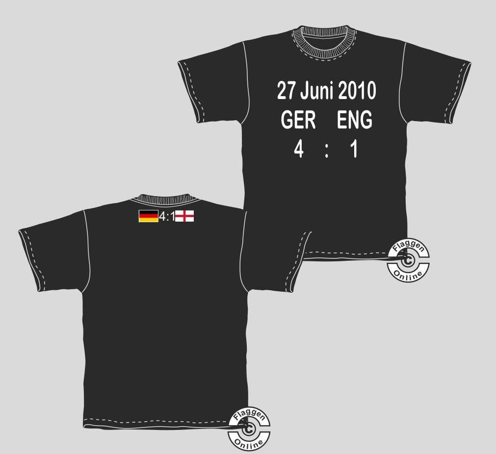 Deutschland England 4:1 T-Shirt