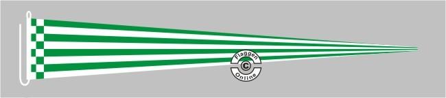 Bremen ohne Wappen Fußball Langwimpel