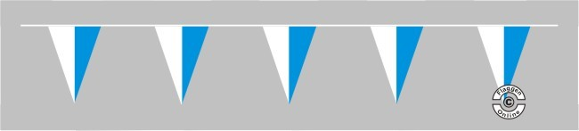 Bayern ohne Wappen Wimpelkette