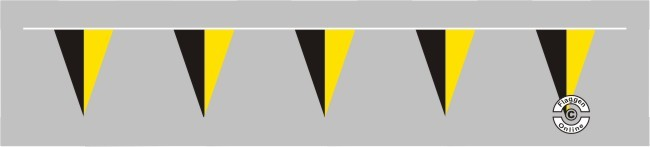 Baden-Württemberg ohne Wappen Wimpelkette