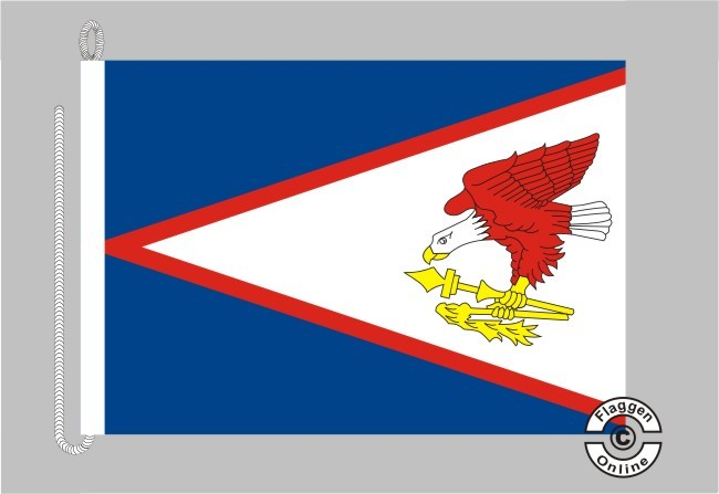 American Samoa Bootsflagge