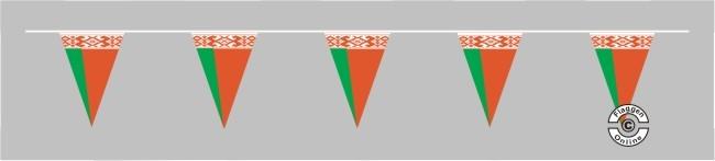 Weißrussland Belarus Wimpelkette