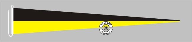 Baden-Württemberg ohne Wappen Langwimpel