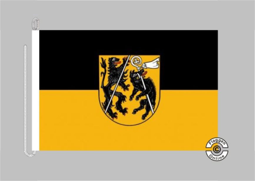 Landkreis Bamberg Bootsflagge