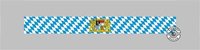 Bayern Raute mit Löwenwappen Tischband