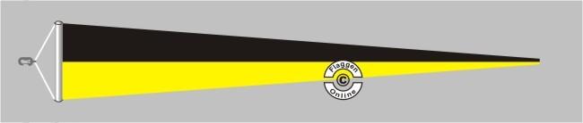 Baden-Würtemberg ohne Wappen Langwimpel mit Querholz