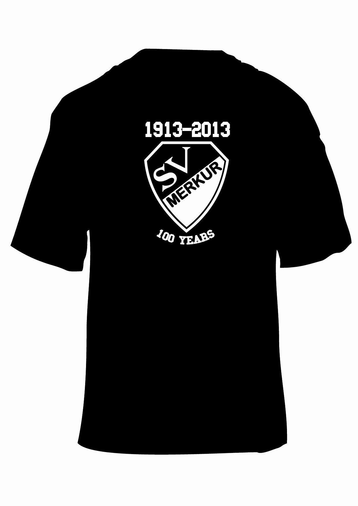 T-Shirt 100 Jahre SV Merkur (Nr.1)