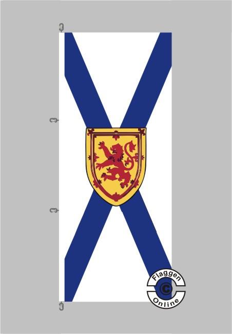 Nova Scotia Flagge Hochformat