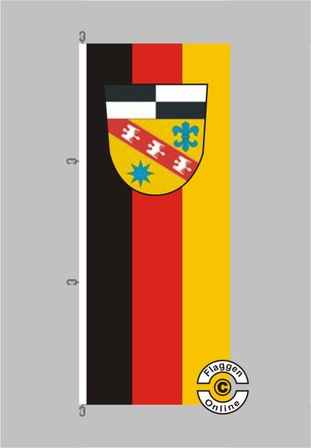 Landkreis Saarlouis Hochformat Flagge
