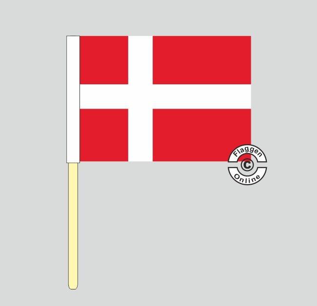 Dänemark Stockflagge